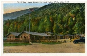 Willey House Camps - Crawford Notch - White Mountains NH, New Hampshire - WB