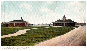 Rhode Island  Newport US Naval Training Station , Naval Landing