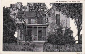 Arkansas Van Buren Bob Burns Home Curteich