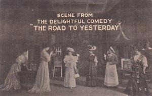 GALESBURG, Illinois, PU-1908; Play, Scene From The Delightful Comedy The Roa...