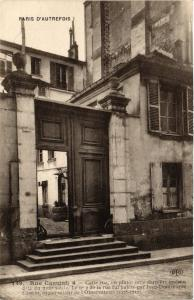 CPA PARIS (14e) 4 Rue Cassini. (535903)