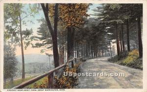 Highway near Abbey Farm Great Barrington MA 1914