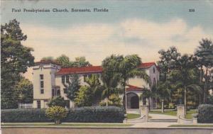 Florida Sarasota First Presbyterian Church 1946