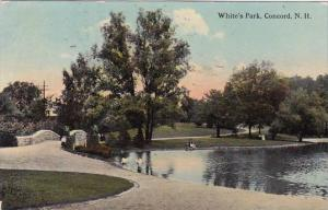 New Hampshire Concord Whites Park 1912