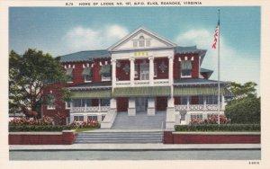 Virginia Roanoke Elks Lodge No 197 sk582