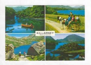 4 Views, The Lakes & Fells Of Killarney, Ireland, 1940-60s