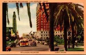 California Los Angeles Wilshire Boulevard