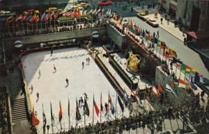 New York City Rockefeller Plaza Skating Rink