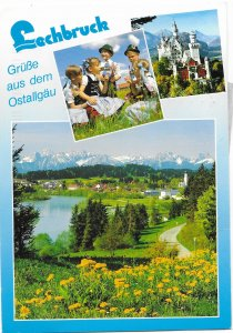 Germany, Lechbruck. Nice pictures.  Used with postage.