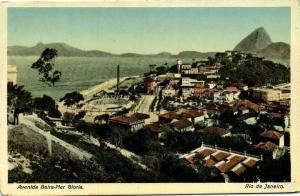 brazil, RIO DE JANEIRO, Avenida Beira Mar Gloria (1910s)