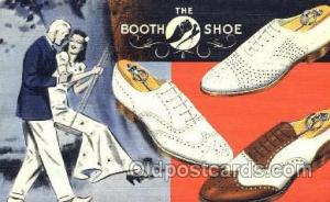 The Booth Shoe Shoe Advertising Postcard Postcards Unused