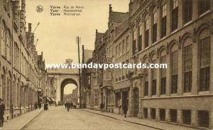 belgium, YPRES YPER YPRES, Rue de Menin, Meenenstraat (1910s)