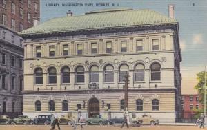 Library, Washington Park, Newark, New Jersey, 1930-1940s