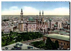 Postcard Modern Cairo Sulton And Hassan El Riffai Mosque Egypt