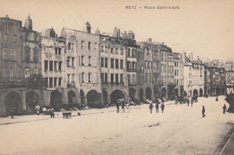METZ , Germany (now France) , 1900-10s ; Place Saint-Louis #2