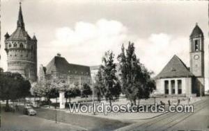 Worms a Rh Germany, Deutschland Postcard Karlsplatz mit Wasserturm Worms a Rh...