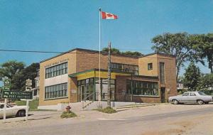 Post Office , BADDECK , Cape Breton , Nova Scotia , Canada , 40-60s