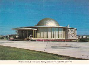 Canada Planetarium Coronation Park Edmonton Alberta
