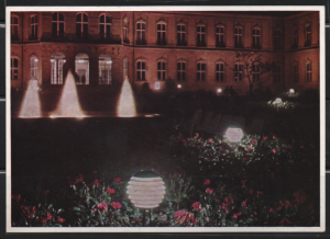 Post Card Stuttgart Germany  Bundesgartenschau 1961