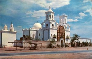 Arizona Tucson Mission San Xavier Del Bac 1962