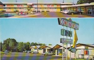 Texas Nacogdoches The Continental Inn 1968