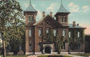 New York Geneva High School Building 1923