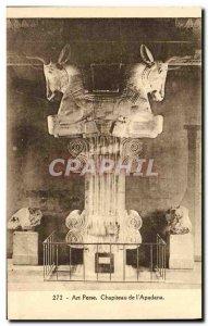 Postcard Old Persian Art Capital L & # 39Apadana