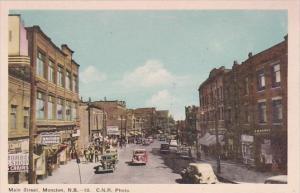 Canada New Brunswick Moncton Main Street