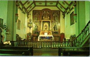Main Altar San Gabriel Mission California Postcard