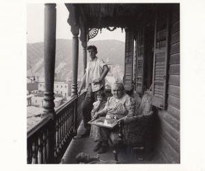 Polish Poland Family in USA War WW2 1940 Jack Delano Award Photograph Postcard
