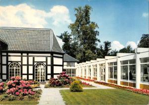GG11758 Bad Driburg Kurpark, Wandelhalle Innenhof
