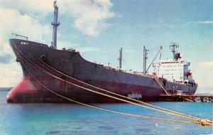 Ms Conestoga Mobil Tanker Cabras Island Guam Unused
