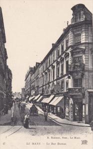 LE MANS (Sarthe), France, 1900-1910s : La Rue Dumas