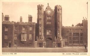 England London, St. James Palace