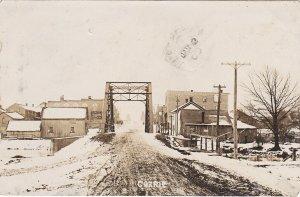 RP: CORRIE , Ontario , 1909 ; Main Street , Bridge