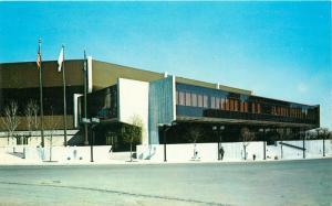 Providence Civic Center Rhode Island RI Postcard