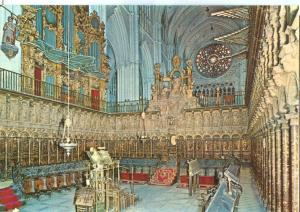 Spain, Toledo, Cathedral, The Choir, unused Postcard