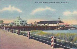 South Carolina Parris Island Main Dock Marine Barracks