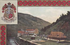 Coat of Arms, Glen Helen, Isle of Man, United Kingdom, PU-1907