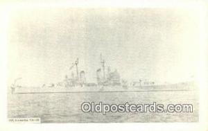 USS Bremerton CA 130 Military Battleship Postcard Post Card Old Vintage Antiq...