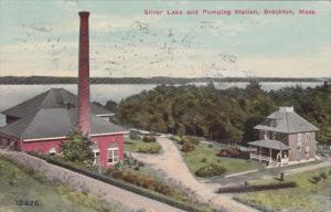 BROCKTON, Massachusetts, Silver Lake and Pumping Station, PU-1915