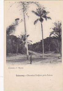 Chemin d'Adjara Pres Pahou, Dahomey, Africa, 1900-1910s