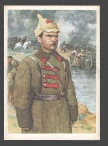 092086 RUSSIAN CIVIL WAR Red Army hero Robert Eydeman Old PC