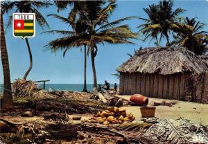 BG21240 togo village au bord de mer types