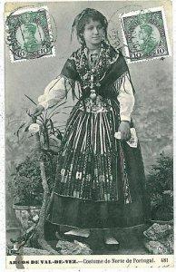 02420 ETHNIC vintage postcard: PORTUGAL - ARCOS DE VAL-DE-REY