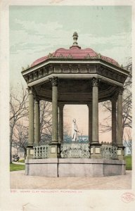 RICHMOND, Virginia, 1910 ; Henry Clay Monument