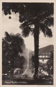 Switzerland Lugano Giardini Pubblici 1930 Photo