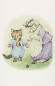Tale Of Tom Kitten 1907 Beatrix Potter Book Postcard