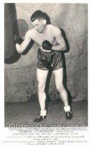 Dennis Chadwick Boxing Unused