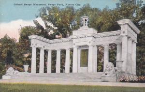 Missouri Kansas City Colonel Swope Monument In Swope Park